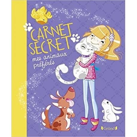 Carnet secret mes animaux préférés
