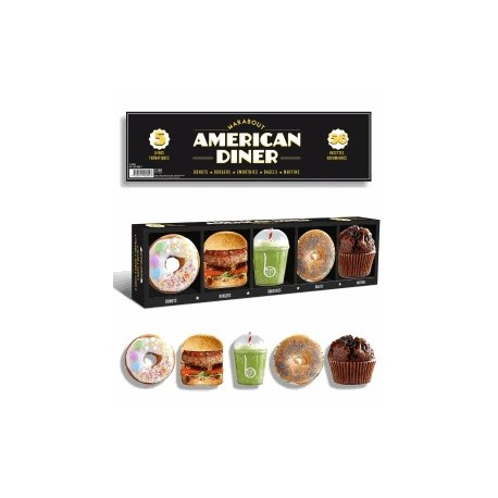 Coffret American diner