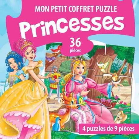 Mon petit coffret puzzle Princesses