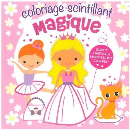 Coloriage scintillant magique