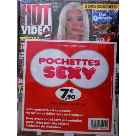 Pochettes SEXY N.1 - HOT VIDEO