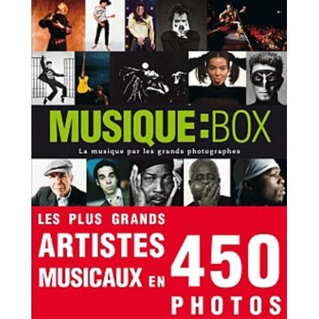 Musique : Box - La musique par les grands photographes