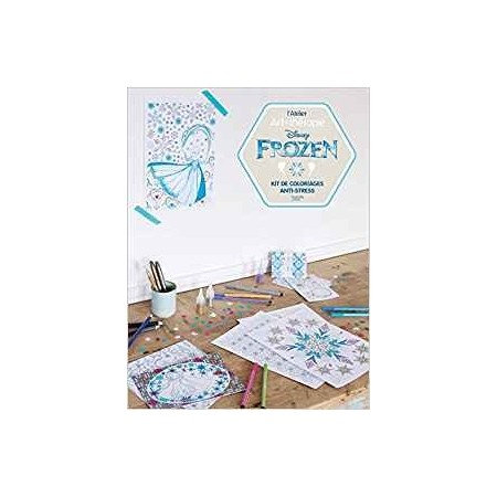 Disney Frozen - Kit de coloriages anti-stress