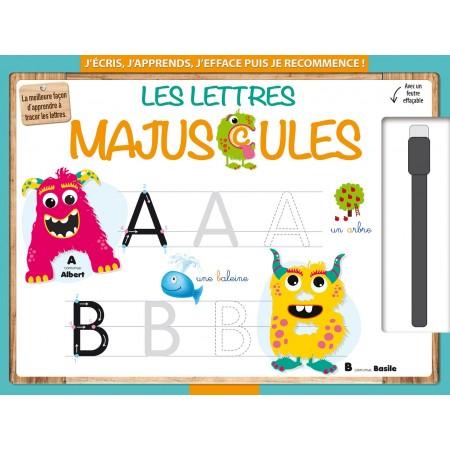 Les lettre majuscules (avec un feutre effaçable)