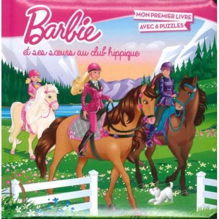 Barbie et ses soeurs au club hippique (6 puzzles)