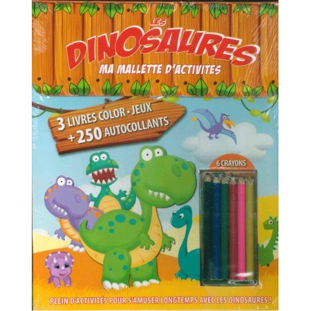 Ma mallette d'activités Les Dinosaures