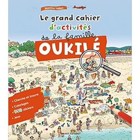 Le grand cahier d'activités de la famille Oukilé (mer)