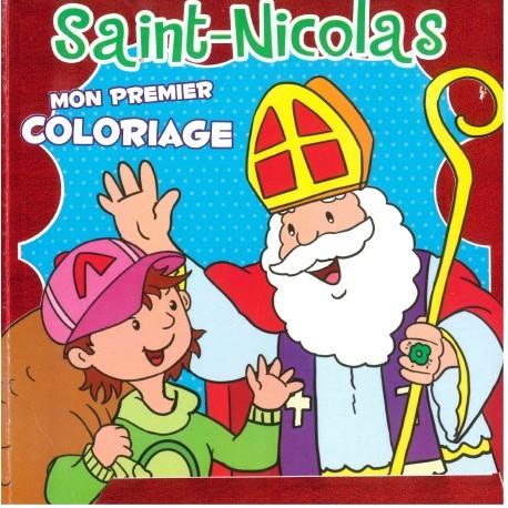 Saint-Nicolas Mon premier coloriage