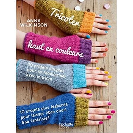 Tricoter haut en couleurs