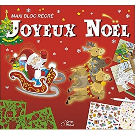 Maxi Bloc Recre Joyeux Noël