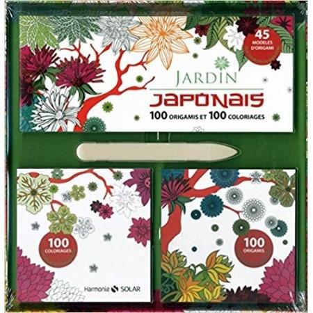 Jardin japonais - 100 origamis et 100 coloriages
