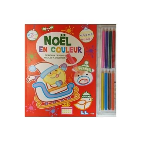 Noël en couleur (+ crayons)