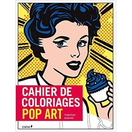 Cahier de coloriages Pop Art Grand format