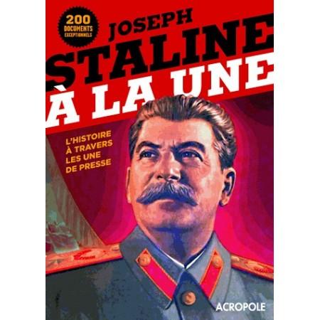 Joseph Staline à la Une