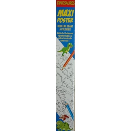 Maxi Poster Dinosaures (4 mètres)