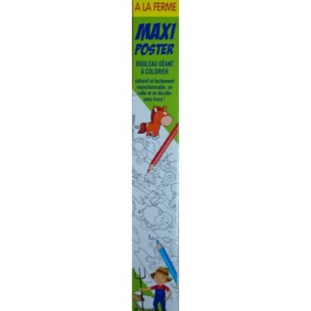Maxi Poster A la ferme (4 mètres)