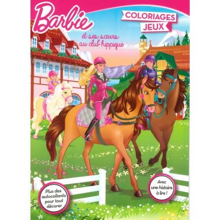 Barbie et ses soeurs au club hippique Coloriages et jeux