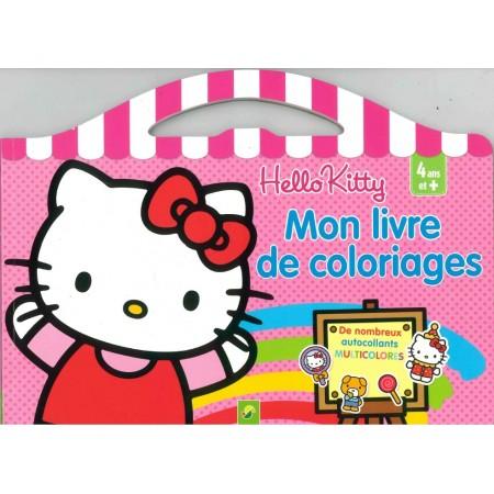 Hello kitty Mon livre de coloriages