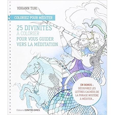 25 divinités à colorier pour vous guider vers la méditation