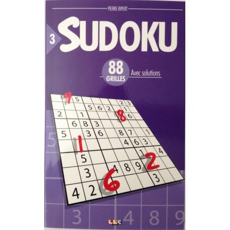 SUDOKU 88 GRILLS N°3