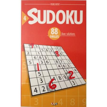 SUDOKU 88 GRILLES N°4 avec solutions