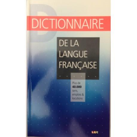 DICTIONNAIRE - De la langue Française
