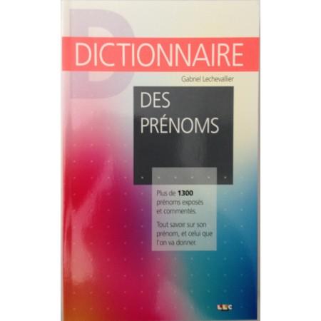 DICTIONNAIRE - Des Prénoms