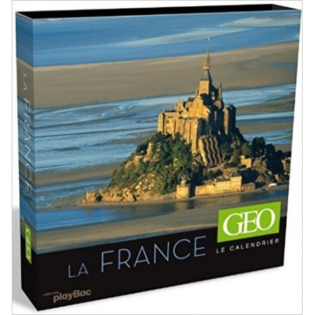 La France - Le calendrier GEO (Coffret)