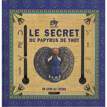 Le secret du papyrus de Thot Coffret