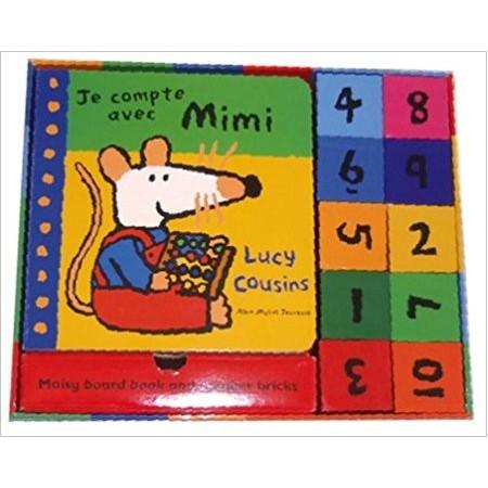 Je compte avec Mimi - Un livre et des cubes pour apprendre à compter