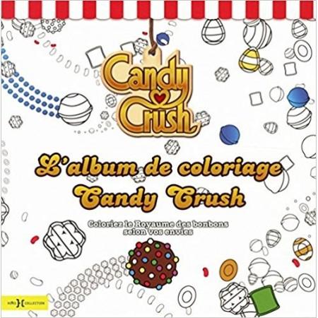 Candy Crush, l'album de coloriages