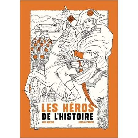 Coloriages littéraires - Les personnages historiques