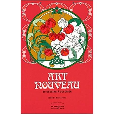 Art Nouveau - 60 dessins à colorier