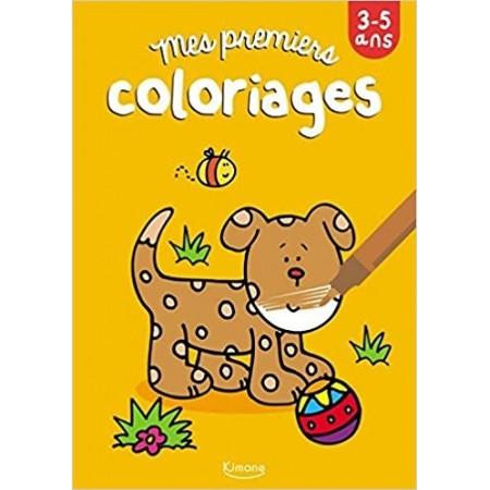 Mes premiers coloriages (chien)