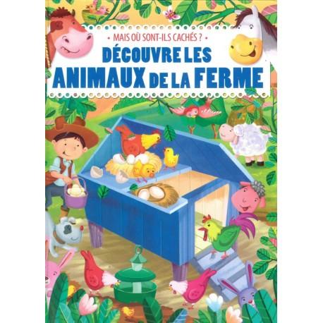 Découvre les animaux de la ferme (avec volets)