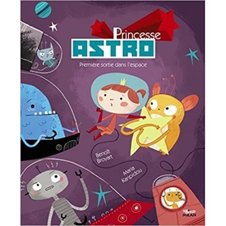Princesse Astro - Première sortie dans l'espace