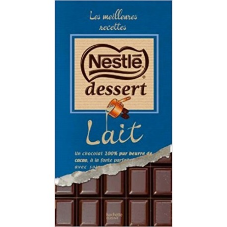 Nestlé dessert au chocolat au lait