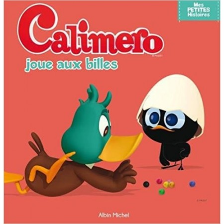 Calimero joue aux billes