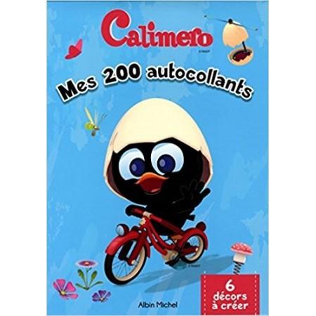 Mes 200 autocollants Calimero - 6 décors à créer