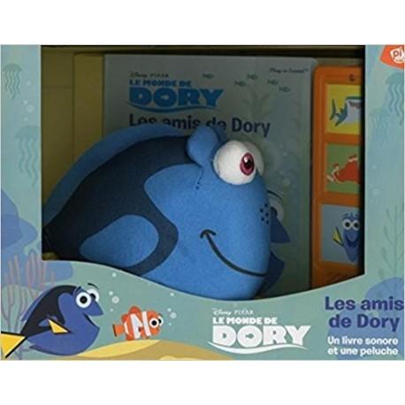 Les amis de Dory : Un livre sonore et une peluche
