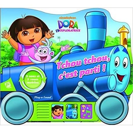 Dora l'exploratrice : tchou, tchou, c'est parti !