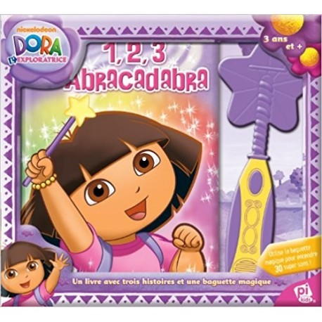 Dora l'exploratrice : 1, 2, 3 Abracadabra : Avec une baguette magique