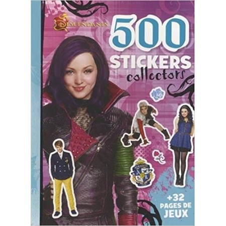 500 stickers collectors Descendants