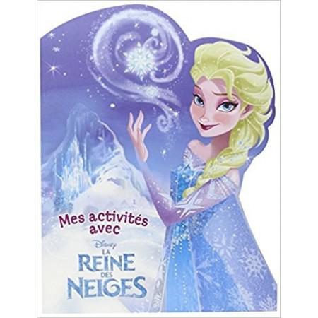 Mes activités avec la Reine des neiges (blonde)