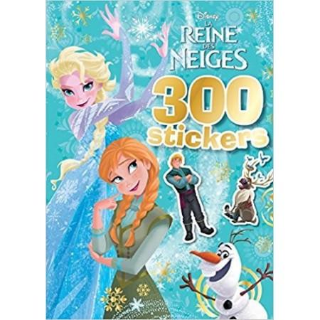 300 stickers La Reine des Neiges