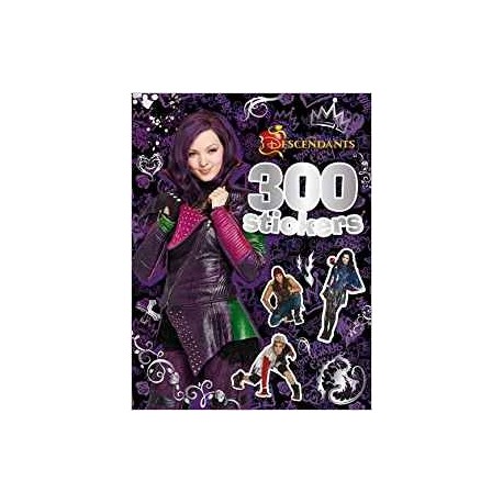 300 stickers Descendants