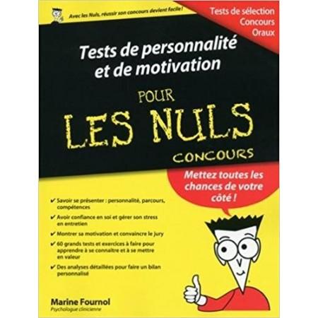 Tests de personnalité et de motivation pour les nuls