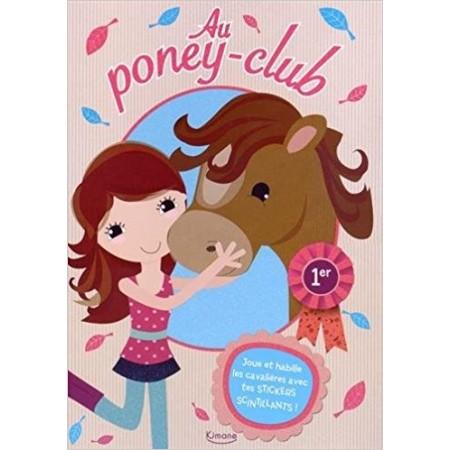 Au poney-club - Activités et stickers scintillants