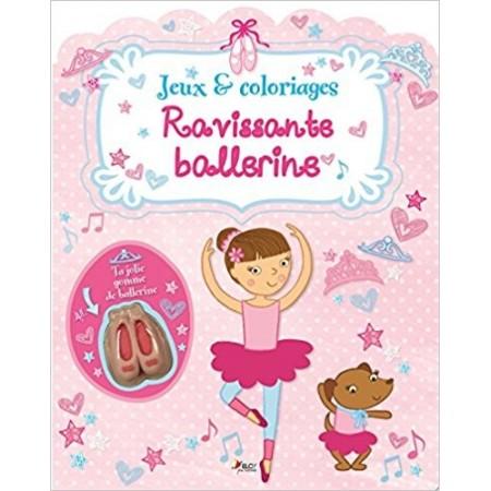 Ravissante ballerine : Jeux & coloriages