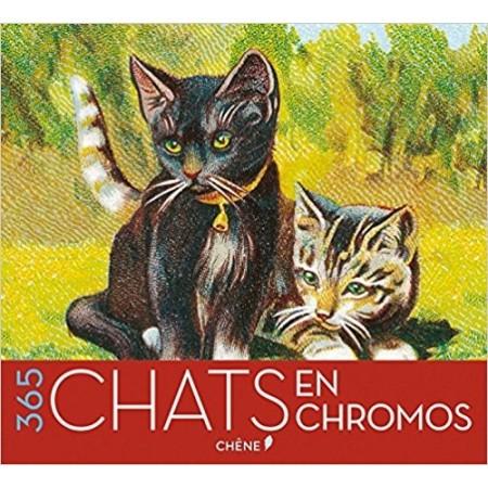 Calendrier perpétuel 365 Chats en chromos